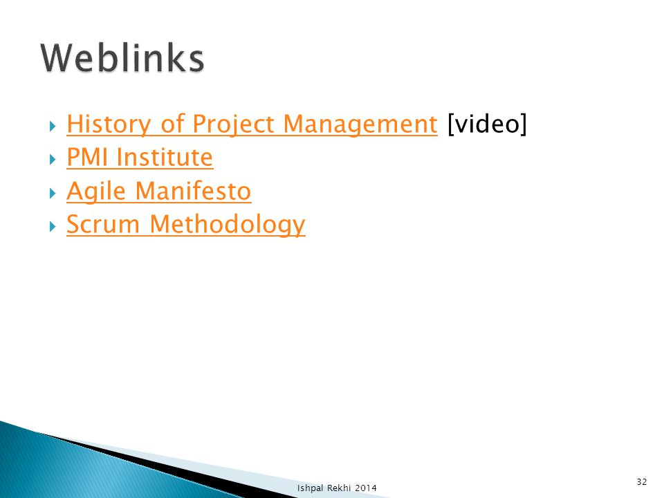 Weblinks History of Project Management [video] PMI Institute